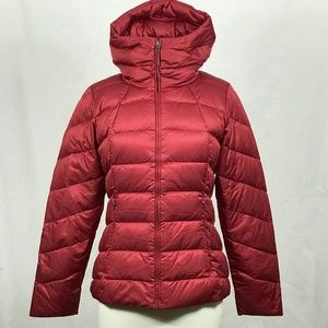 NWOT Patagonia Red Downtown Loft Hooded Jacket